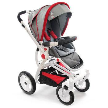 Yip Baby 歐式時尚豪華推車-紅色限定版