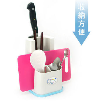 3+1餐具立架 立放架 餐具收納架(台灣製造)