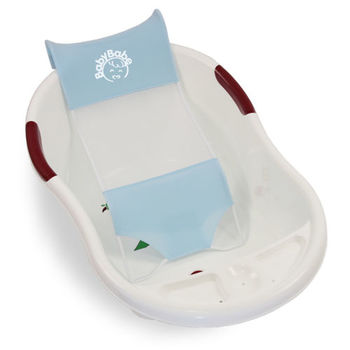 嬰兒沐浴澡盆床組