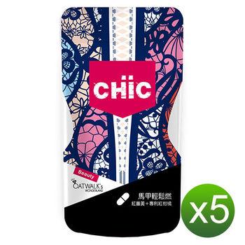 CHiC 馬甲輕鬆燃 (45顆/袋)X5