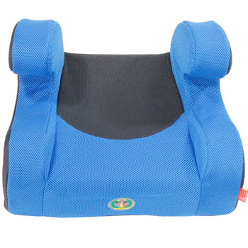 omax超輕超大兒童用增高座墊 (藍色 )+兒童安全帶輔助調整固定扣