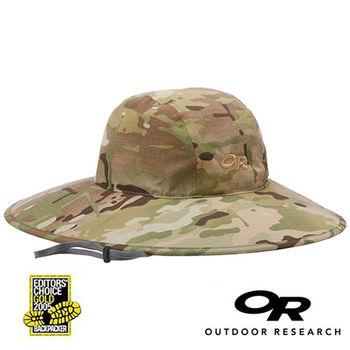 【美國Outdoor Research】防水透氣抗紫外線迷彩遮陽帽