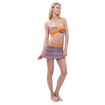 【sunseeker 泳裝】花卉圖騰風女比基尼裙款泳裝 (83695)S-XL