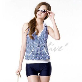 【梅林品牌】時尚三件式比基尼泳裝NO.M4431(現貨+預購)