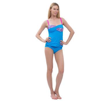【sunseeker 泳裝】浪漫海洋風情女泳裝 (83705) 連身式S-XL