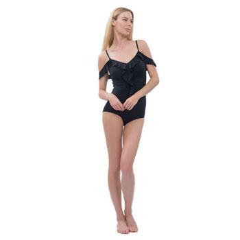 【sunseeker 泳裝】性感花苞兩穿式泳裝 (80709) S-XL白