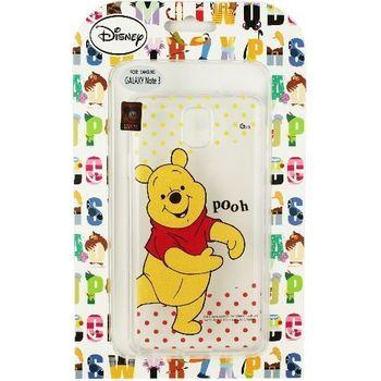 【Disney】Samsung Galaxy Note 3 (N9000) 彩繪透明保護軟套-維尼