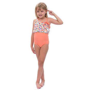 【sunseeker 泳裝】(50512)澳洲名品女童魅力幾何系列連身泳裝