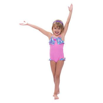 【sunseeker 泳裝】澳洲名品女童粉色點點系列連身泳裝 (50510)