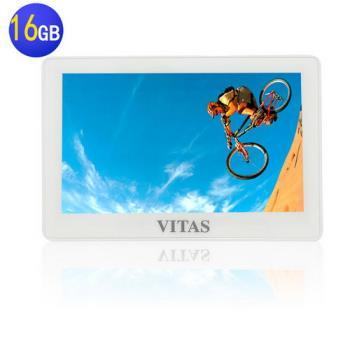 【VITAS】X5000 5吋高畫質觸控 MP5 16G~送第二顆電池