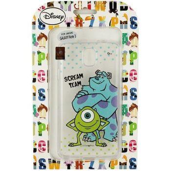 【Disney】Samsung Galaxy Note 3 (N9000) 彩繪透明保護軟套-毛怪/大眼仔
