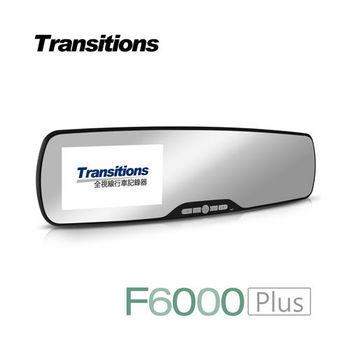 全視線 F6000 後視鏡行車記錄器 停車監控 加強版(送16G TF卡)