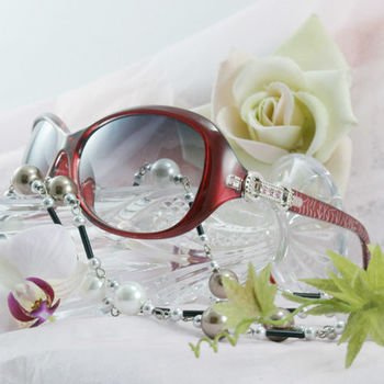 [Chimon Ritz] 情人戒UV400太陽眼鏡-紅