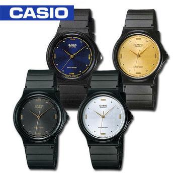 【CASIO 卡西歐】日系-簡約指針中性錶_鏡面3.38cm (MQ-76)