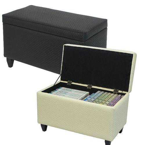 MYHOUSE 網狀紋皮革收納椅