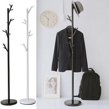 舒適屋 英倫樹枝設計款衣帽架/吊衣架(2色可選)