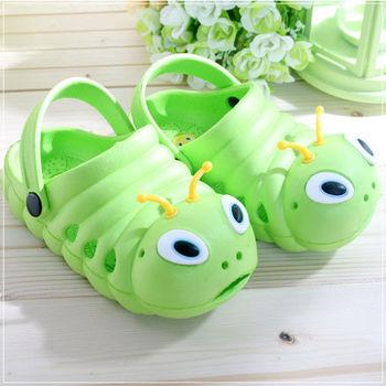 魔法Baby ~知名品牌 KUKI 酷奇毛毛蟲輕便鞋(草綠)~s5973