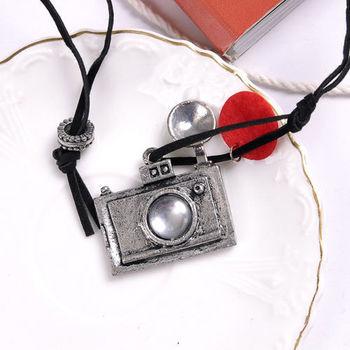太妃糖 旅遊記事復古相機項鍊