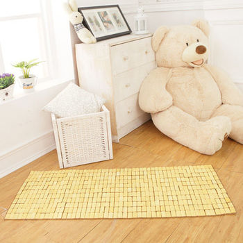 床之戀 天然系透氣竹坐墊-二人45x110cm