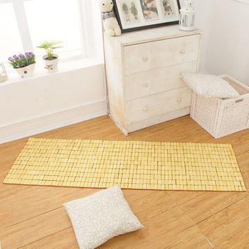 床之戀 天然系透氣竹坐墊-三人45x150cm
