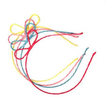太妃糖 名媛經典蝴蝶結造型髮圈(4色)