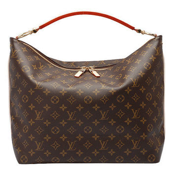 LV M40587 Monogram Sully MM單把肩背包
