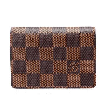 LV N62920 棋盤格名片夾零錢包