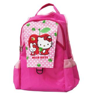 【凱蒂貓Hello Kitty】雙層休閒書背包(KT-2929_apple)