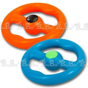 【Lchic】三合一水陸兩用拉扯互動耐咬玩具(飛行方向盤 / Size:L)