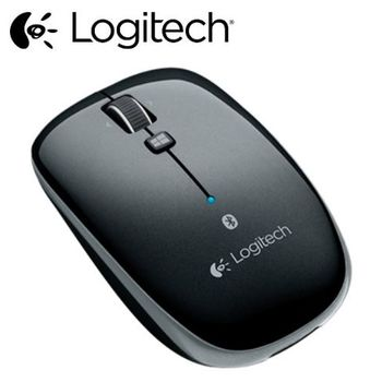 Logitech羅技 M557 藍牙滑鼠-鐵灰黑