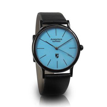 【Arseprince】彩虹之夜簡約中性錶-藍色