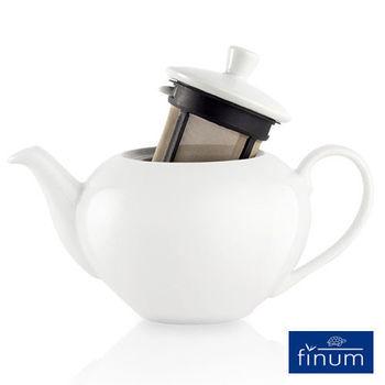 【Finum】陶瓷泡茶壺450ml(附濾網)