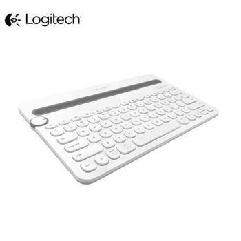 羅技 K480 多功能藍牙鍵盤-白