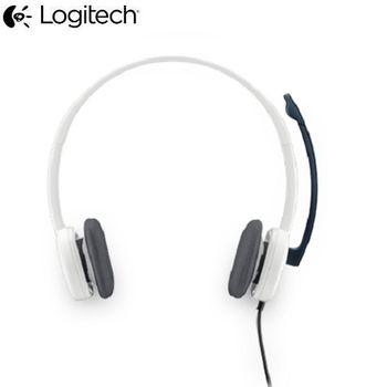 羅技 立體聲 耳機麥克風 H150白