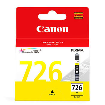 Canon CLI-726Y 原廠黃色墨水匣