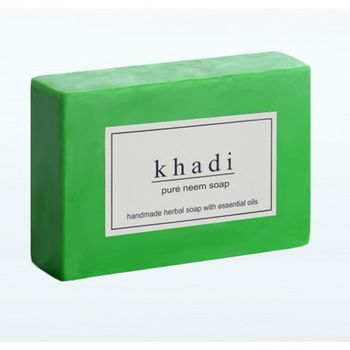 【印度Khadi】草本苦楝手工精油香皂(6入特惠組)