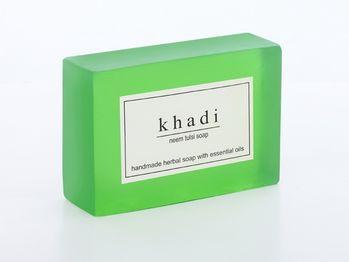 【印度Khadi】草本苦楝聖羅勒手工精油香皂(6入特惠組)