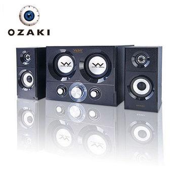 【OZAKI】WoW2.2 雙炮硬式超重低音喇叭(WU460)