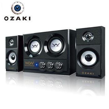 【OZAKI】WoW2.2 雙炮重低音喇叭(WR325)