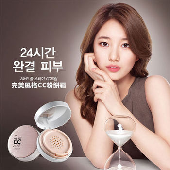 The Face Shop 24HR 完美風格CC粉餅霜 16g