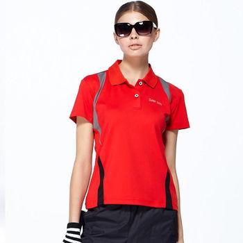 【SAIN SOU】台灣製涼感吸濕排汗POLO衫(女版)M-2L