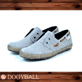 【Dogyball】JB6 - Palm 無鞋帶懶人帆船鞋 - 都市灰