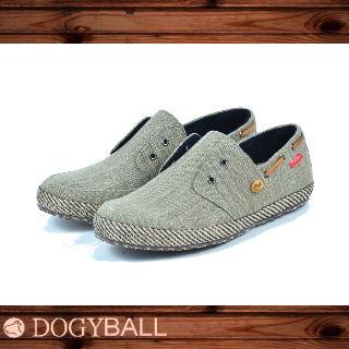 【Dogyball】JB6 - Palm 無鞋帶懶人帆船鞋 - 橄欖綠
