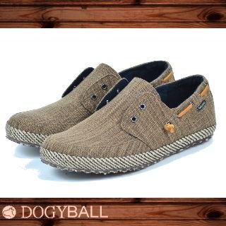 【Dogyball】JB6 - Palm 無鞋帶懶人帆船鞋 - 淺咖啡