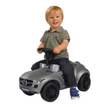【德國BIG】AMG 兒童學步車/灰色 SLS AMG Bobby- Benz