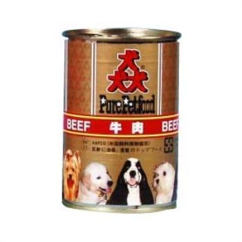 【Pure Petfood】猋罐頭-牛肉 狗罐385g X 24入