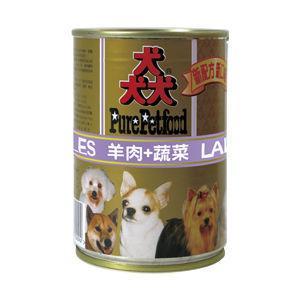 【Pure Petfood】猋罐頭-羊肉+蔬菜 狗罐385g X 24入