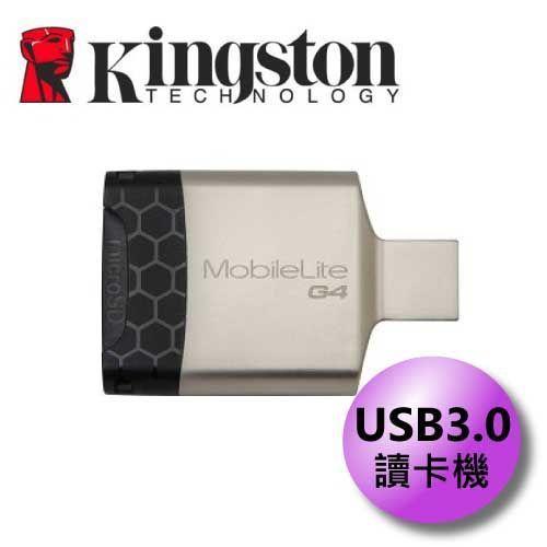 Kingston 金士頓 MobileLite G4 USB3.0 讀卡機 FCR-MLG4