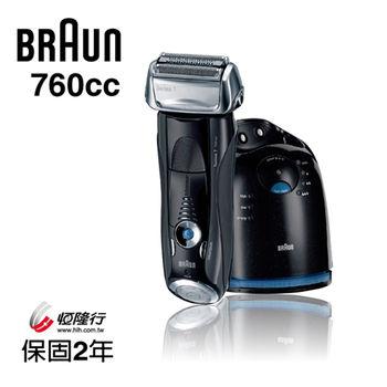 【德國百靈BRAUN】7系列智能音波極淨電鬍刀760cc(加贈Oral-B電動牙刷 P450(隨機顏色)
