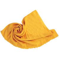 GUCCI GG logo羊毛真絲圍巾 ^#47 頸巾 ^#47 披肩 ^#40 黃 ^#